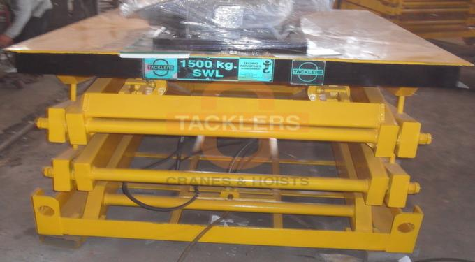 Hydraulic Double-scissor Lift Table