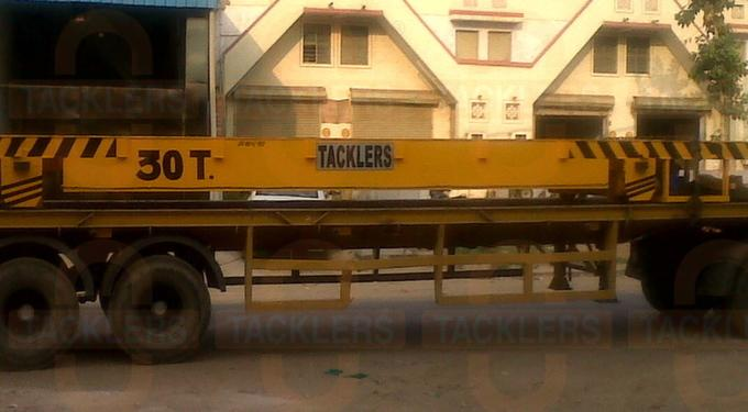 30 Ton Industrial Transfer Cars Trolleys, Material Transfer Carts