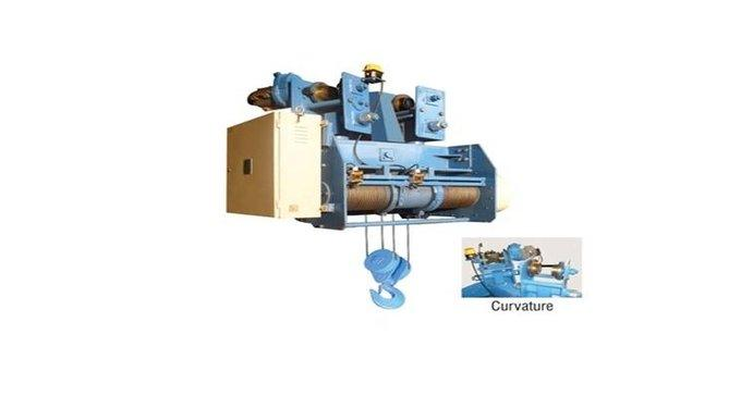 Curvature Type Wire Rope Hoist