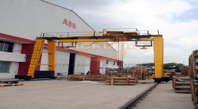 Double Girder Gantry Crane Manufacturers