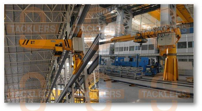 Pillar Mounted Jib Cranes, Wall Mounted Jib Cranes