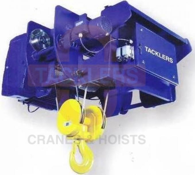 Electric Wire Rope Hoist Manufacturers In India - TACKLERS