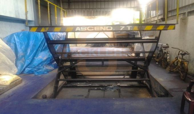 7 Ton Hydraulic Scissor Lifts Tables, Industrial Material Lifts